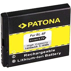 Batterie BL-6F | BL6F pour Nokia N78 | N79 | N95 8GB et bien plus encore... [ Li-ion, 1400mAh, 3.7V ]