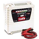 Telwin Elements TOURING 11 Autobatterie Ladegerät für 6V/12V Batterien, Ladestrom bis zu 4,5 A, Kapazität bis zu 55 Ah