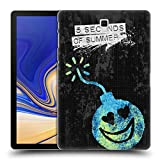 Head Case Designs Offizielle 5 Seconds of Summer Graffiti Bomb Gemalte Symbole Ruckseite Hülle für Samsung Galaxy Tab S4 10.5 (2018)