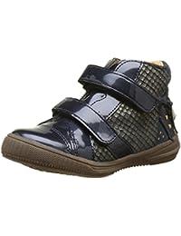 Chaussures à bout ouvert à scratch Babybotte noires fille