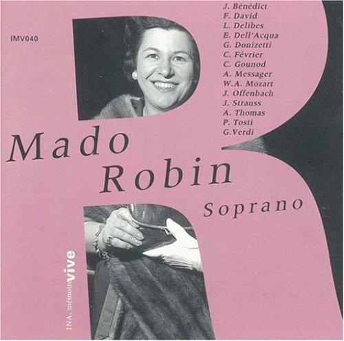 Récital Mado Robin - Ses plus grands succès