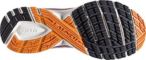 Brooks Herren Launch 4 Laufschuhe High Risk Red/Black/Orange Peel