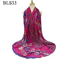 XBR l'écharpe de soie simulation simulation foulard en soie crème solaire châle de fonctions multiples, décoration de tournée,浅绿,180cm 90 *