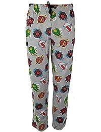 fca8928dcc Mens Official DC Comic Justice League Lounge Pants Pyjamas Small to X-Large  Grey