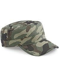Cappellino Mimetico Militare Berretto Uomo Beechfield Army Camouflage Cotone 00f16cdc8e28