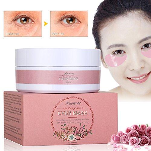 Nuonove CV45090 Augenpads, PINK - Hauttypen Feuchtigkeit Maske