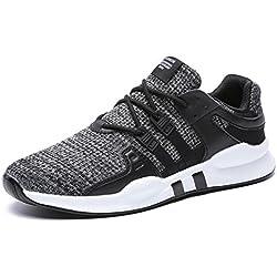 IIIIS-F Zapatos Aire Libre y Deportes Zapatillas de Running para Hombre.