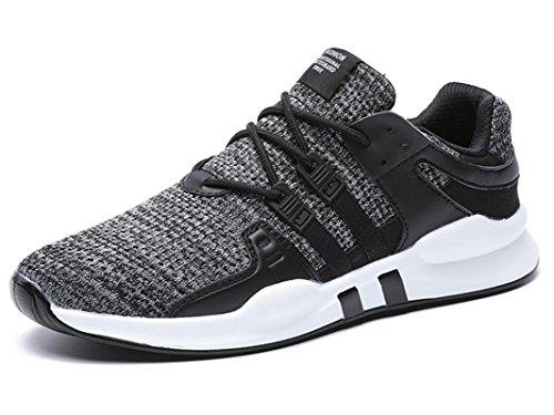 IIIIS-F Zapatos para Correr en Monta?a y Asfalto Aire Libre y Deportes Zapatillas de Running Padel para Hombre