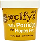 Wolfy's Nutty Porridge with Honey Pot 90 g (Pack of 6)