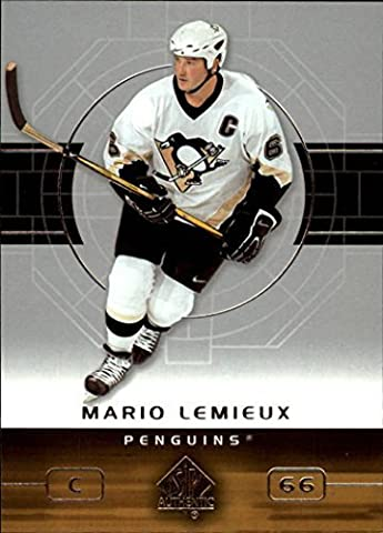 2002/2003 Sp Authentic Hockey Complete Mint Basic 90 Card Set Including Lemieux, Jagr, Theodore, Roy, Sakic, Modano, Brodeur, Forsberg and Many Others! by Upper Deck