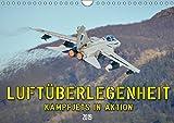 Luftüberlegenheit - Kampfjets in Aktion (Wandkalender 2019 DIN A4 quer): Faszinierende Aufnahmen von Kampfjets in Aktion. (Monatskalender, 14 Seiten ) (CALVENDO Technologie)