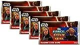Topps - 5x Booster Star Wars Erwachen der Macht Force Attax Extra - Deutsche Ausgabe