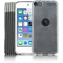 Kolay® iPod Touch 6 Funda, Transparente Funda de silicona Gel TPU Silicona, Protector de pantalla, Calcetín Cover para Apple iPod Touch 6 6G 6th Generation (6.GEN)