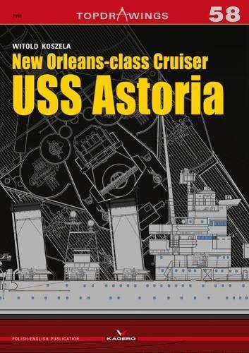New Orleansclass Cruiser USS Astoria (Top Drawings) por Witold Koszela