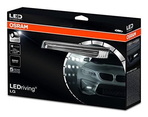 Osram LEDDRL102 LEDDRL102 LEDriving LG Luz de Conducción Diurna, con Luz de Posición, 15W, 12V