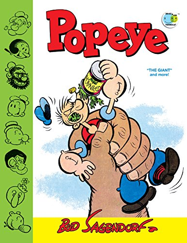 "(Popeye Classics Vol. 11: ""The Giant"" and More! (English Edition))"
