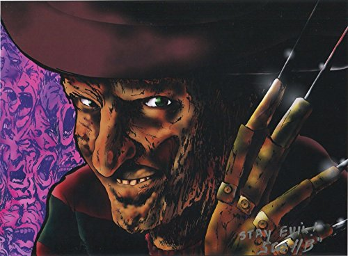 Nightmare On Elm Street Freddy Krueger Signed Tribute 11x8.5 Print With COA