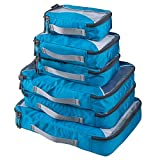 G4Free 6pcs Packing Cubes Value Set for Travel