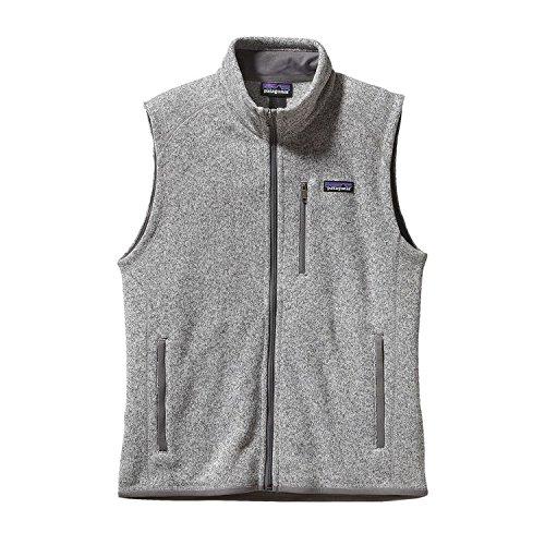 Patagonia Herren Weste Better Sweater Fleece Stonewash, S -