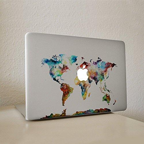 er, Morbuy abnehmbare Kunst Creative Anti-Kratz-Beschichtung Skin Vinyl Schutz MacBook Aufkleber Pro 15 A1707 Touch Bar (Farbwelt) (Ist Pikachu Ein Junge Oder Ein Mädchen)