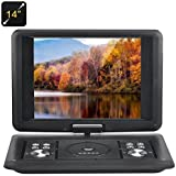 BW 14 Inch Portable DVD Player - Copy Function, 270 Degree Rotating Screen, Games, Copy Function