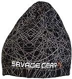 Savage Gear Knit Geometry Beanie Black Kappe