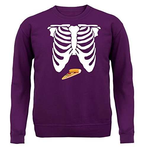 pizza-ventre-unisex-sweat-pull-violet-xl