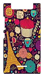 Designer Printed Case for Gionee E7 Mini