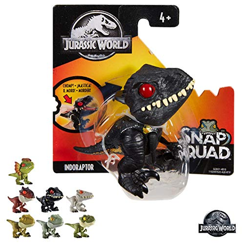 Mattel-GKX72 Jurassic World Dino bocazas 11x5cm, (GKX72)