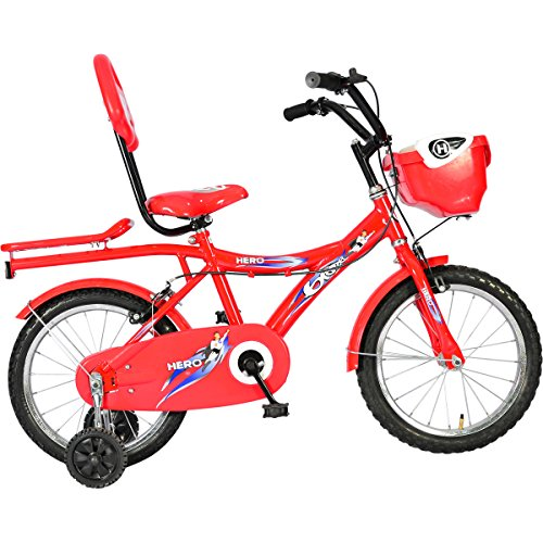 Hero Blaze 16T Hi Riser Bike, Junior (Red)