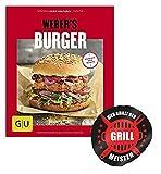 Weber Burger (GU s Grillen) Burger frisch vom Grill +Grillmeister Sticker by Collectix