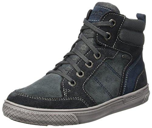 Superfit Jungen Luke Hohe Sneaker, Grau (Stone Kombi), 37 EU