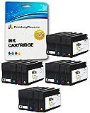 Printing Pleasure 16 XL Druckerpatronen für HP Officejet Pro 8600, 8600+, 8100, 8610, 8620, 8630, 8640, 8660, 251dw, 276dw | Ersatz für HP 950XL, HP 951XL CN045AN, CN046AN, CN047AN, CN048AN