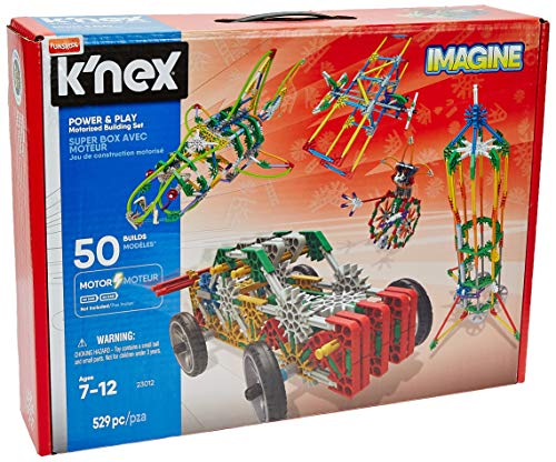Used, K'NEX Imagine Power and Play Motorised Building Set for sale  Delivered anywhere in Ireland