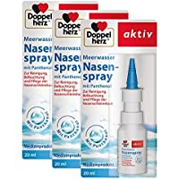 Preisvergleich für Doppelherz Meerwasser Nasenspray – Spray mit pflegendem Panthenol zur Reinigung, Pflege und Befeuchtung der Nasenschleimhaut...