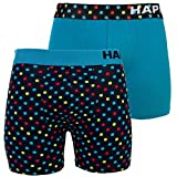 2 Happy Shorts Pants Herren Boxershorts Boxer witzige Designs FARBWAHL , Grösse:XXL - 8 - 56, Präzise Farbe:Design 11
