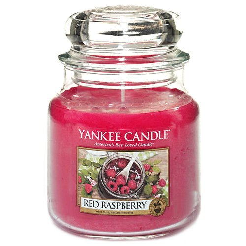 Yankee Candle 1323187 Moyenne Jarre Rouge Framboise