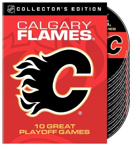 Preisvergleich Produktbild Calgary Flames 10 Greatest Playoff Games NHL DVD Box (10 DVDs)