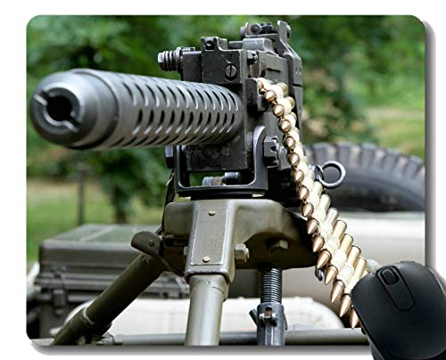 Ihr eigenes Customized Mousepad, Waffe M1919 Bräunungsmaschinengewehr Rubber Base Mouse ()