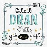 Sheepworld Boho 2018 - Mini-Broschürenkalender, Sprüchekalender, Wandkalender - 17,5 x 17,5 cm - Boho Chic