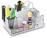 Schreibtisch-Organizer Ablagesystem Transparent