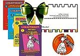 Spartiti per bambini con le note colorate. Per pianoforte e tastiera. Offerta 4 quaderni Luiraffimarti + 1 CD + cartoncino segnanote.