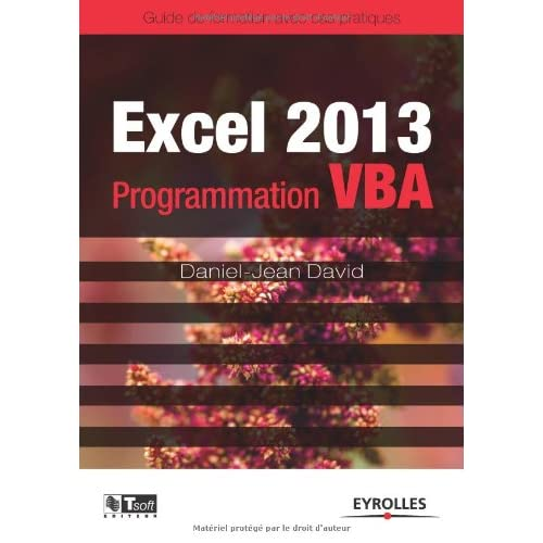 Excel 2013 - Programmation VBA