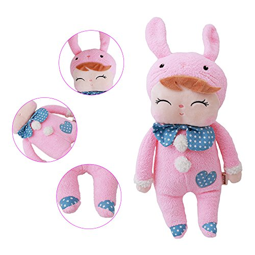 Preisvergleich Produktbild Gluckliy Plüsch Spielzeug Kleine Kaninchen Plüschtiere für Kinder Tier Puppen Soft Geburtstagsgeschenk