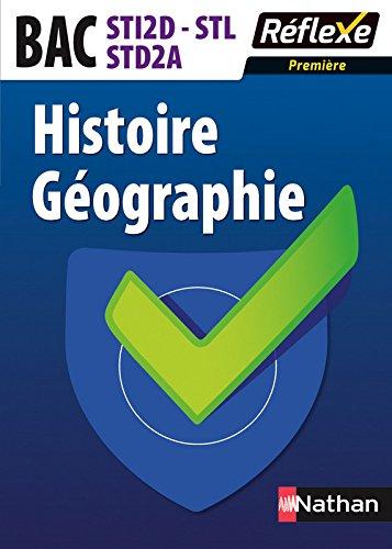 Histoire-Géographie - 1re STI2D-STL-STD2A