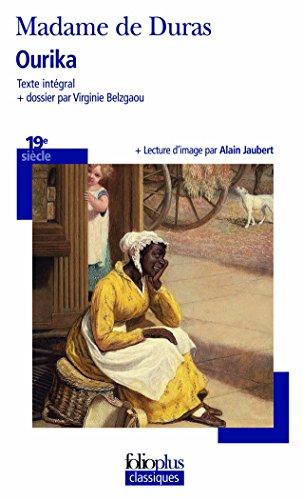 Ourika par Madame de Duras