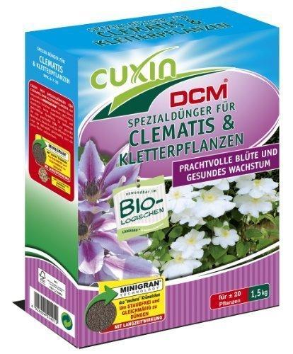 Cuxin Spezialdünger für Clematis und Kletterpflanzen, 1,5 kg