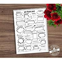Geburtstag Gästebuch Poster, Gästebuch Idee und Alternative, Print mit vorgedruckten Fragen für Geburtstagsgäste, Scribble Style, Geschenk als Erinnerung zum Geburtstag