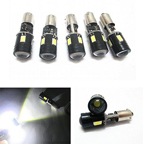 2 Stück Weiß LED Auto Lichter Lampe BAY9S H21 W DC12 V 6SMD PREMIUM QUALITAET - NEU-5630 und CREE Top Shine Hohe Qualität Bright Energiesparend Backup Lights Fehlerfrei