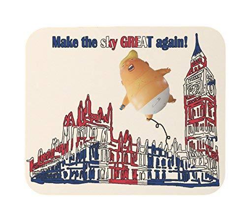 The Sky Tolles wieder Trump Ballon Funny Heavy Duty Maus Pad -